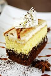 Cake Piece with Cream