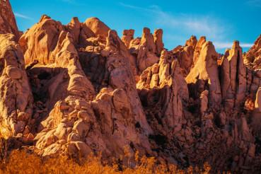 California Desert Rock Formation