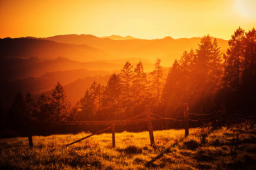 California Hills Sunset