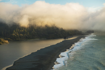 California Klamath River and Coastal Scenery