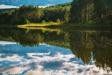 Calm Scenic Norwegian Lake