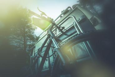 Camper Bike on the Rack