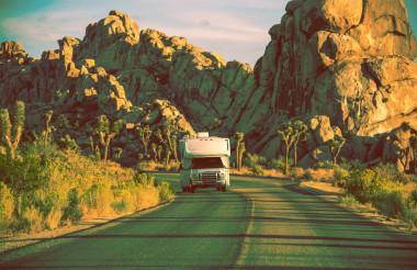Camper in California