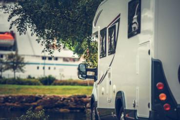 Camper Van Campsite