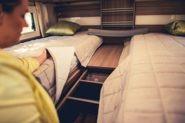 Camper Van Sleeping Beds