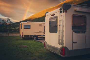 Camping Under the Rainbow