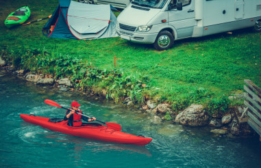 Camping with Kayaking