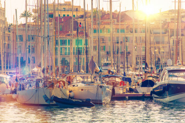 Cannes Marina French Riviera