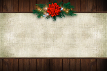 Canvas Christmas Background