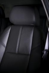 Car Black Leather Seat