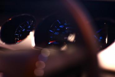Car Dash Closeup