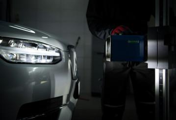 Car Headlight Aimer Tester