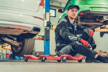 Car Mechanic Creeper Break