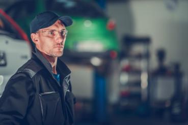 Car Mechanic Portrait