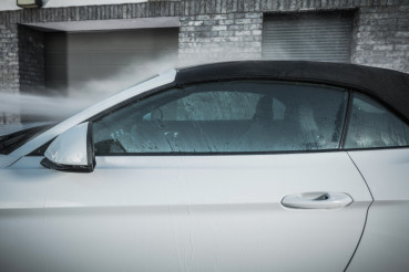 Car Soft Roof Washing