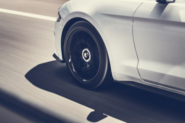Car Speeding on a Highway