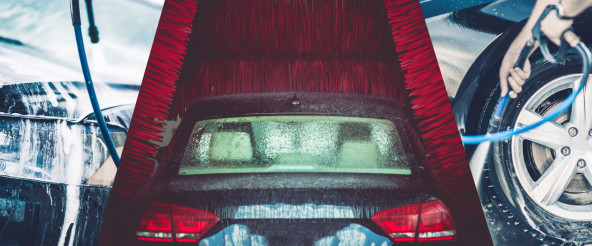 Car Wash Concept Banner
