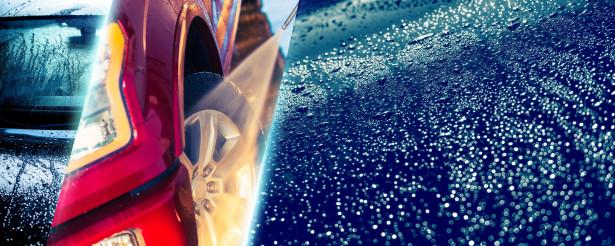 Car Washing Banner Background