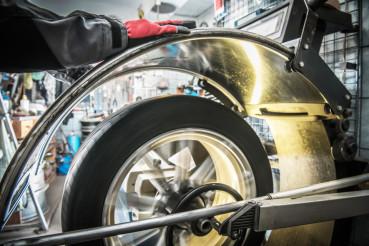Car Wheel Balancer in Action
