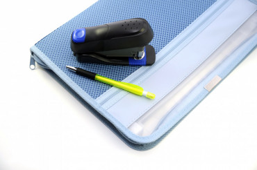 Case Stapler and Pen
