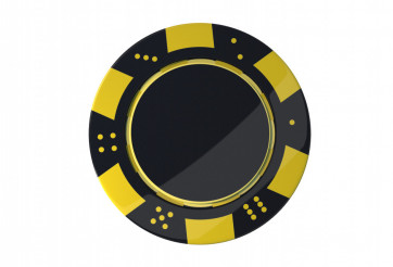Casino Game Chip Isolated