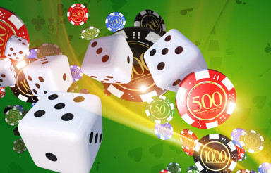 Casino Games Illustration