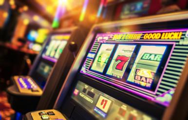 Casino Interior Slot Machines