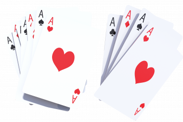 Casino Poker Playing Cards PNG Isolated
