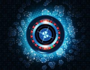 Casino Roulette 3D Concept