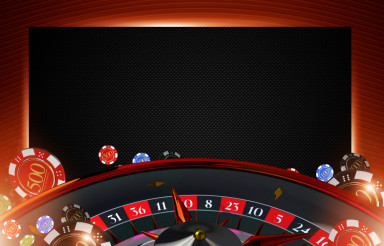 Casino Roulette Copy Space