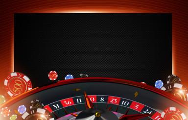 Casino Roulette Copy Space