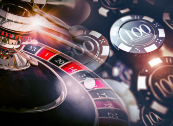 Casino Roulette Game Chips