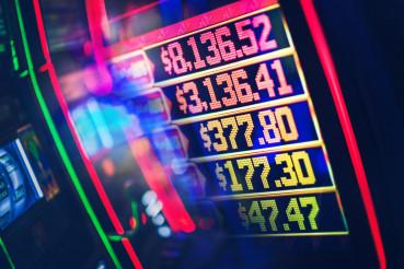 Casino Slot Jackpots Concept