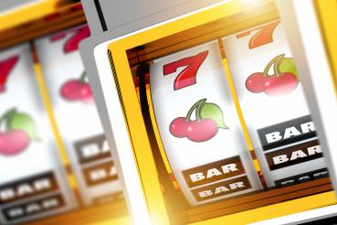 Casino Slot Machines Concept Illustration