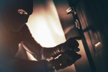 Caucasian House Burglar