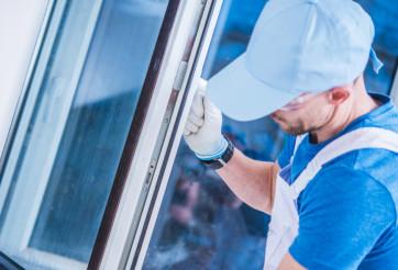 Caucasian Windows Technician