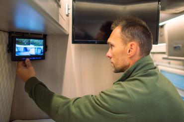 CCTV System Inside Camper Van RV