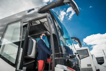 Charter Motor Coach Bus Driver