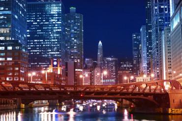 Chicago Franklin Bridge