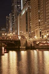 Chicago Golden Night