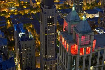 Chicago Night Scenery
