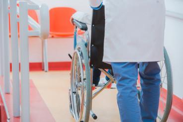 Child on the Wheelchair