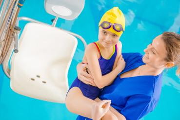 Children Rehabilitation in Pool