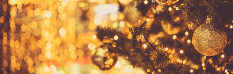 Christmas Ornaments Banner