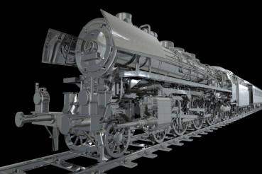 Chromed Locomotive