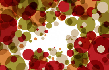 Cool Circles Vector Background