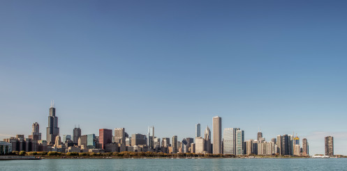 City of Chicago Panoramic Skyline