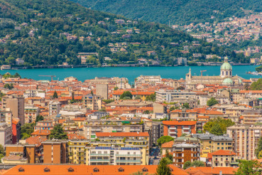 City of Como Panorama
