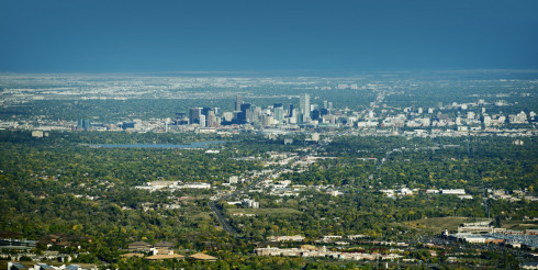 City of Denver Panorama