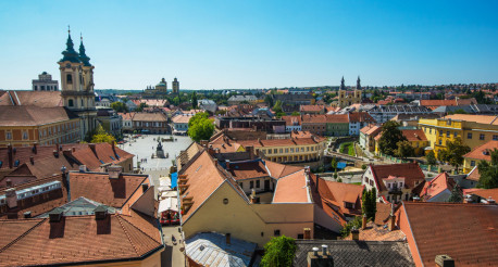 City of Eger Hungary
